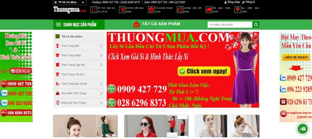 Hình ảnh của website thuongmua.com | Xưởng may áo sơ mi