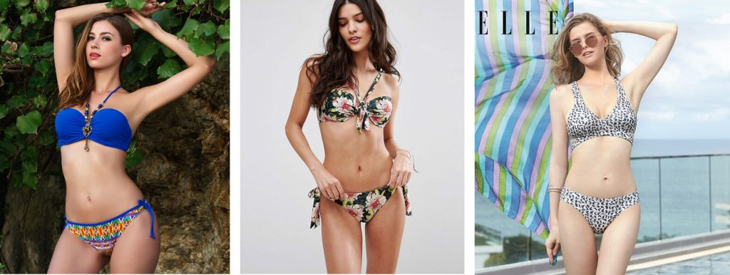 bikini 2 manh voi hoa tiet hoa van, vintage rat duoc yeu thich vao 2019
