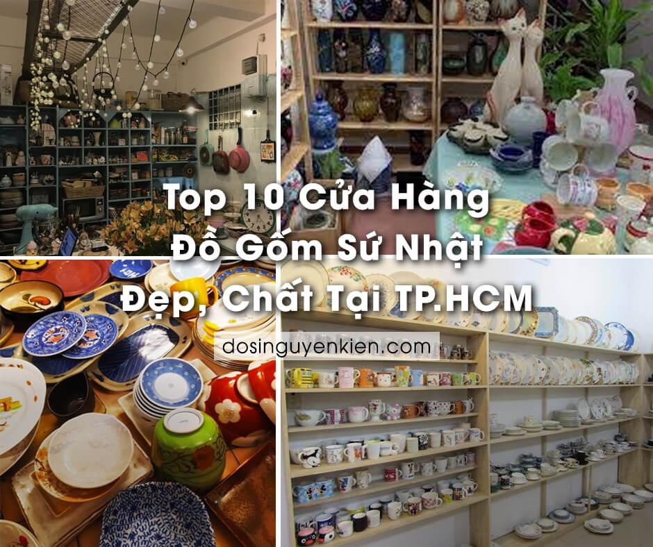 Top 10 cửa hàng đồ gốm sứ