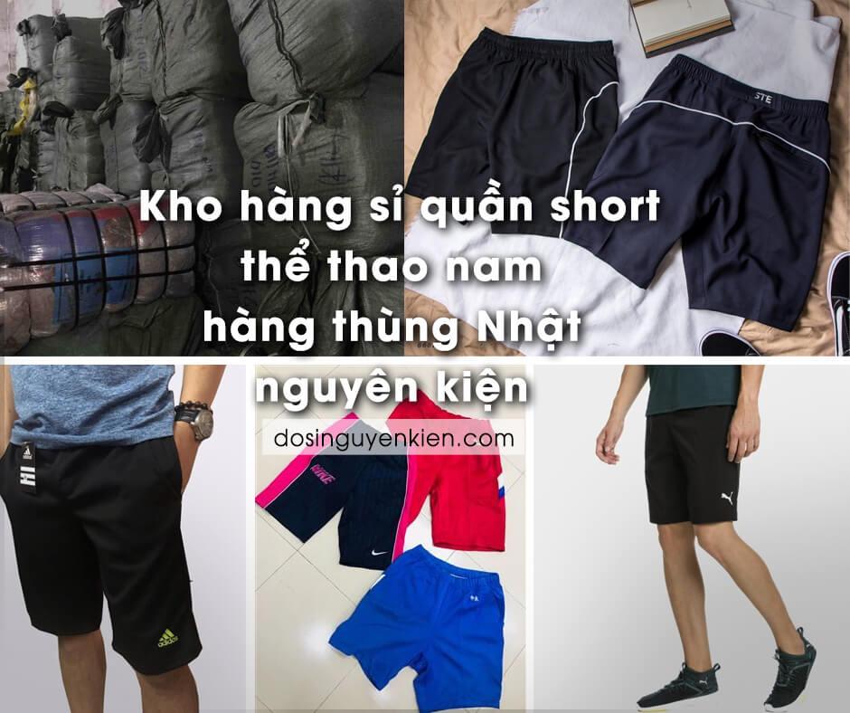 kho hang si quan short the thao nam hang thung nhat nguyen kien