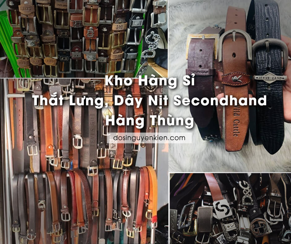 kho hang si that lung day nit secondhand hang thung