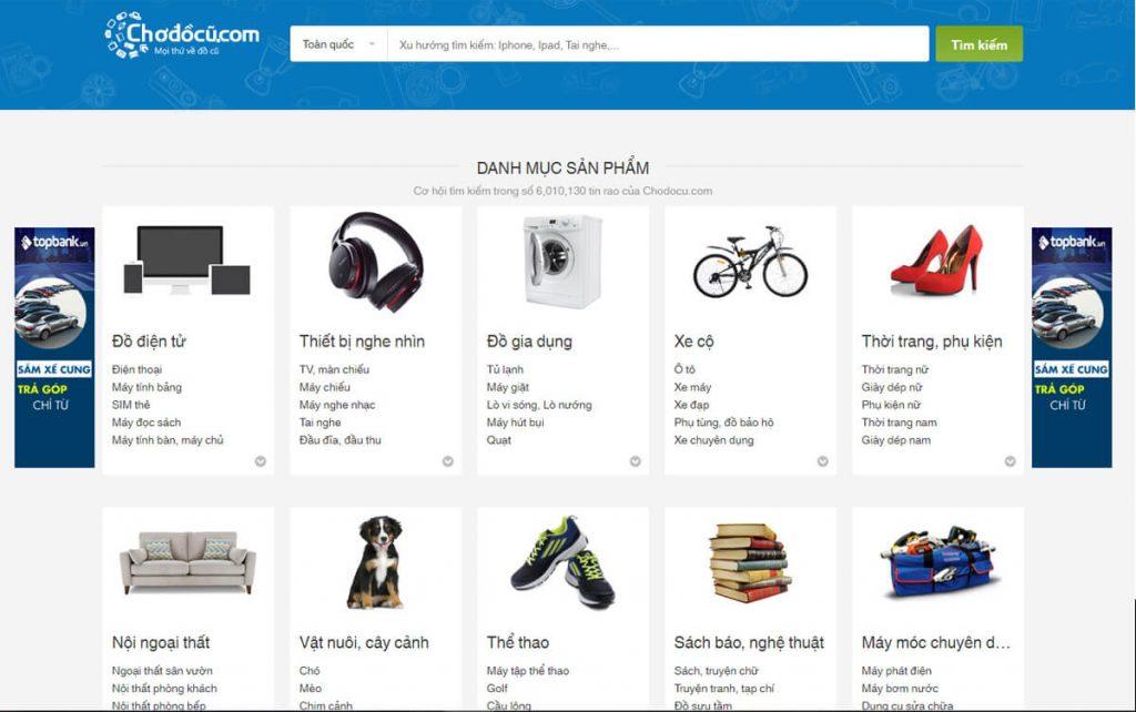 chodocu.com cung la trang thuong mai dien tu mua ban do cu nhu cho tot nhung chat luong hon