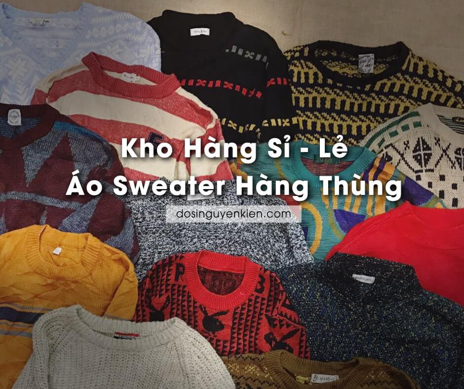kho hang si le ao sweater hang thung