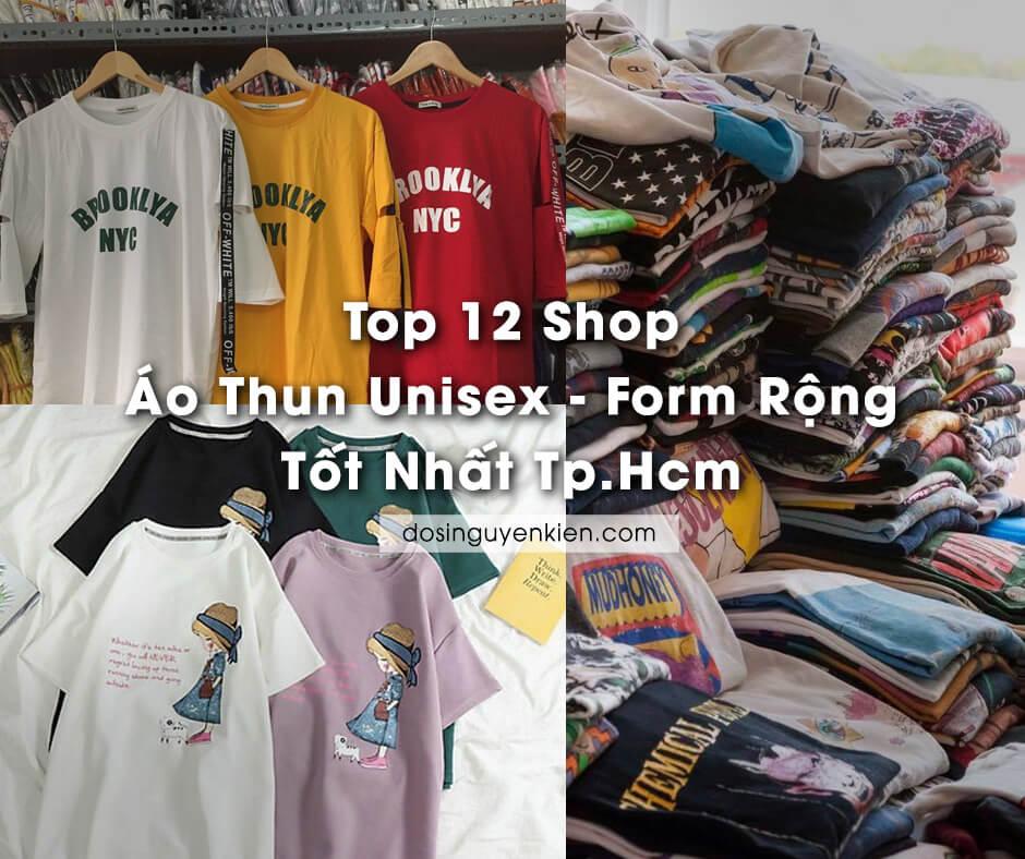 top 12 shop ao thun unisex form rong tot nhat tphcm