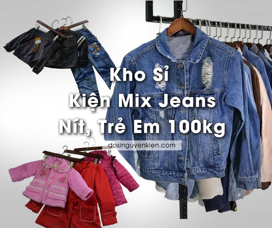 kho si kien mix jeans nit tre em 100kg