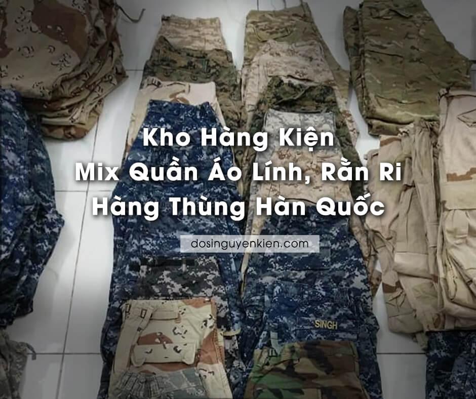 kho hang kien mix quan ao linh ran ri hang thung han quoc